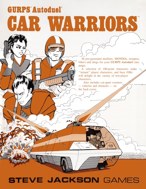 GURPS Car Warriors