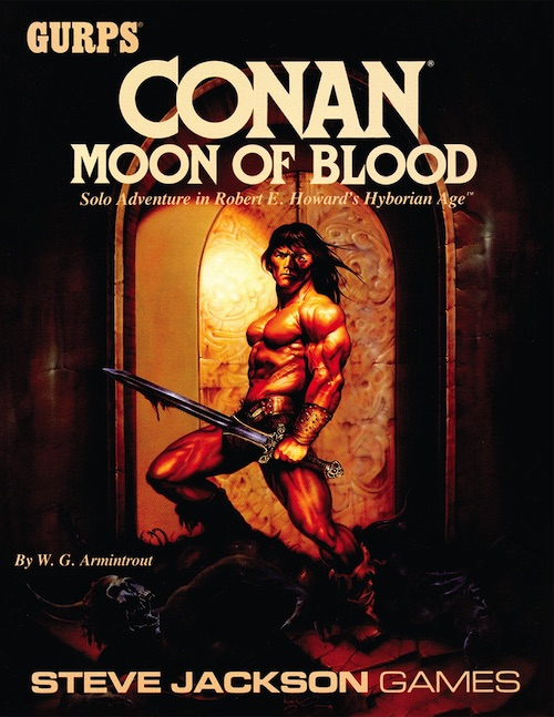 GURPS Conan: Moon of Blood (Front)