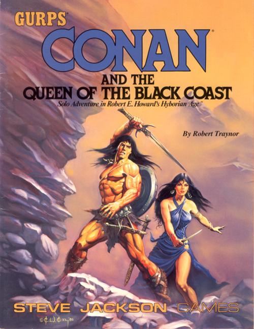 GURPS Conan and the Queen of the Black Coast (Front)