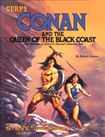 Conan and the Queen of the Black Coast cover