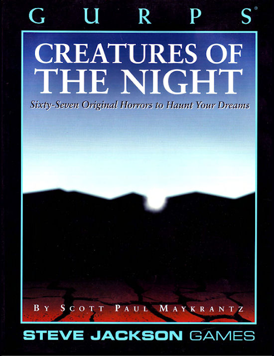 GURPS Creatures of the Night (Front)