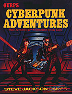 Cyberpunk Adventures cover