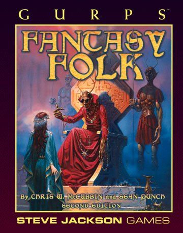 GURPS Fantasy Folk, Second Edition