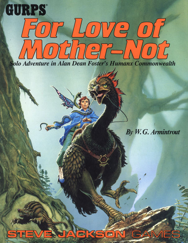 GURPS For Love of Mother-Not