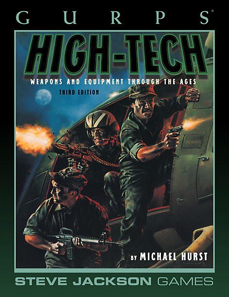 GURPS High-Tech, Third Edition (Front)