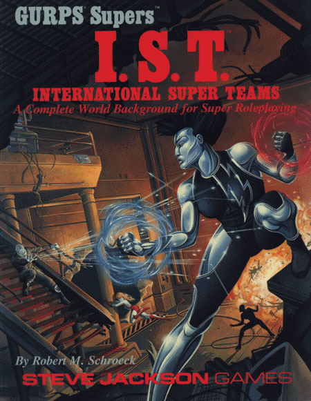 GURPS Supers International Super Teams