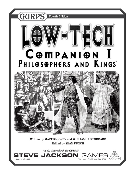 GURPS Low-Tech Companion 1: Philosophers and Kings