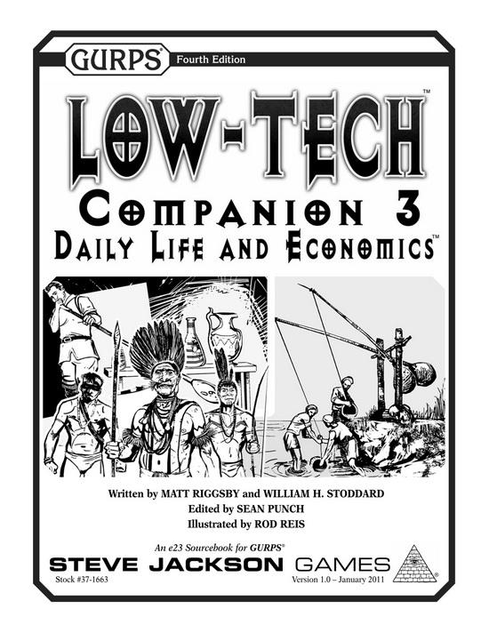 GURPS Low-Tech Companion 3: Daily Life and Economics