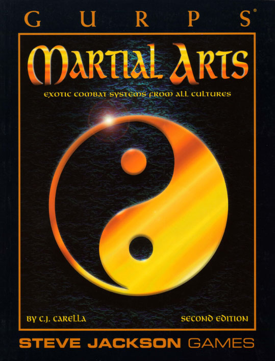 GURPS Martial Arts, Second Edition