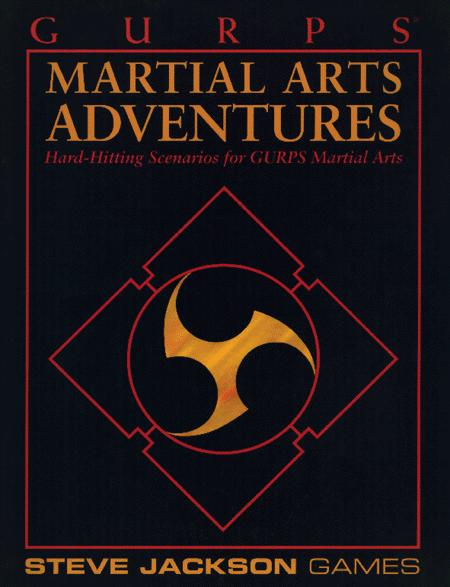 GURPS Martial Arts Adventures