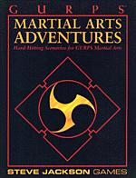 Martial Arts Adventures cover