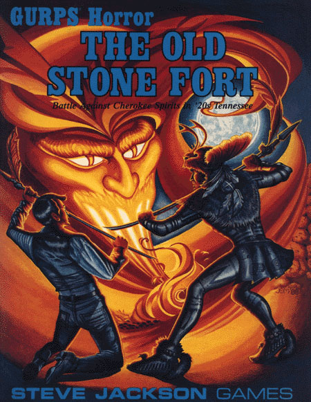 GURPS Horror The Old Stone Fort (Front)