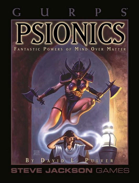 GURPS Psionics (Front)