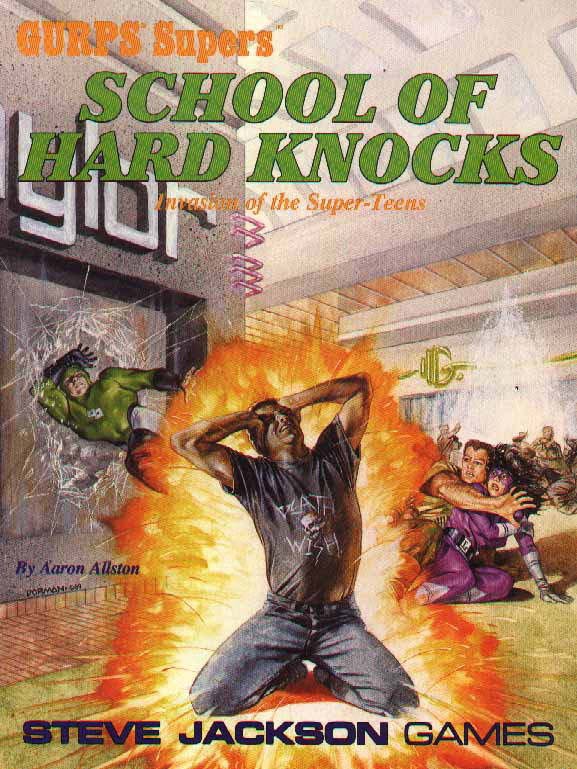 GURPS Supers School of Hard Knocks