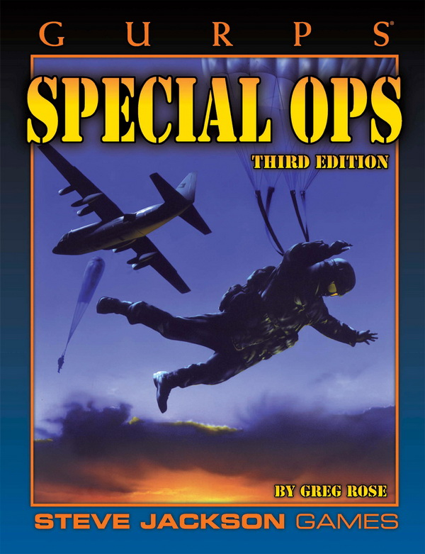 GURPS Special Ops, Third Edition