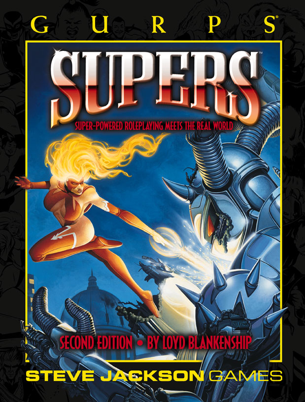 GURPS Supers, Second Edition