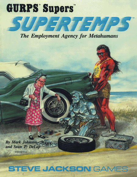 GURPS Supertemps