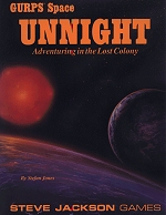 Space: Unnight cover