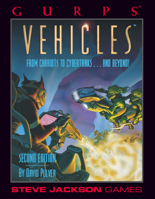 GURPS Vehicles, Second Edition