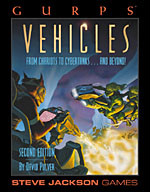 Excerpts from GURPS Vehicles – Cover