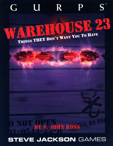 GURPS Warehouse 23