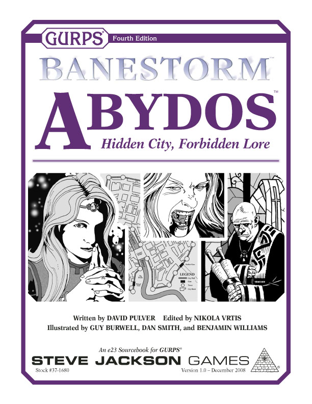 GURPS Banestorm: Abydos