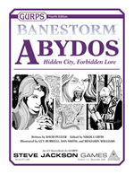 GURPS Banestorm: Abydos cover
