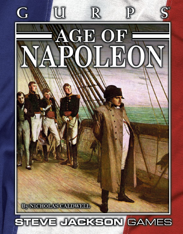 GURPS Age of Napoleon (Front)