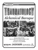 GURPS Thaumatology: Alchemical Baroque Cover