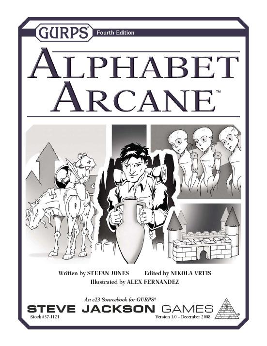 GURPS Alphabet Arcane