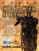 Character Sheets (Summer of Horror Edition) cover