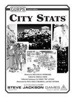 GURPS City Stats Cover