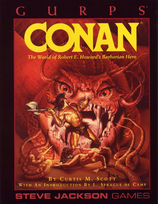GURPS Conan (Front)