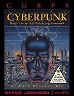 GURPS Cyberpunk (Front)