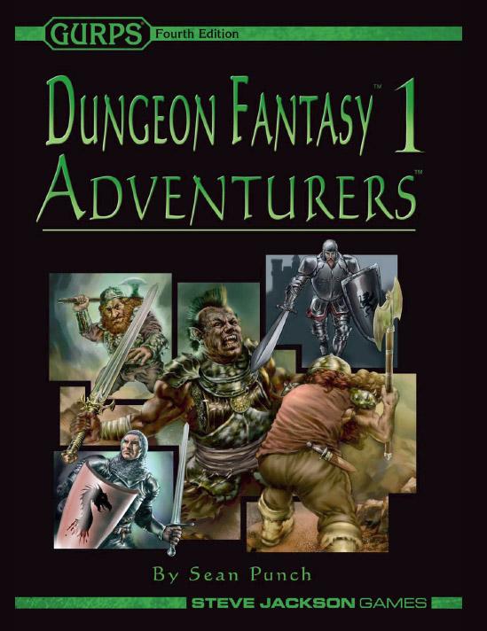 GURPS Dungeon Fantasy 1: Adventurers