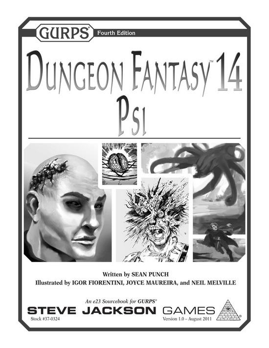 GURPS Dungeon Fantasy 14: Psi