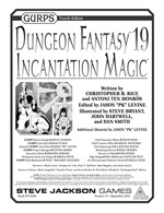 GURPS Dungeon Fantasy 19: Incantation Magic