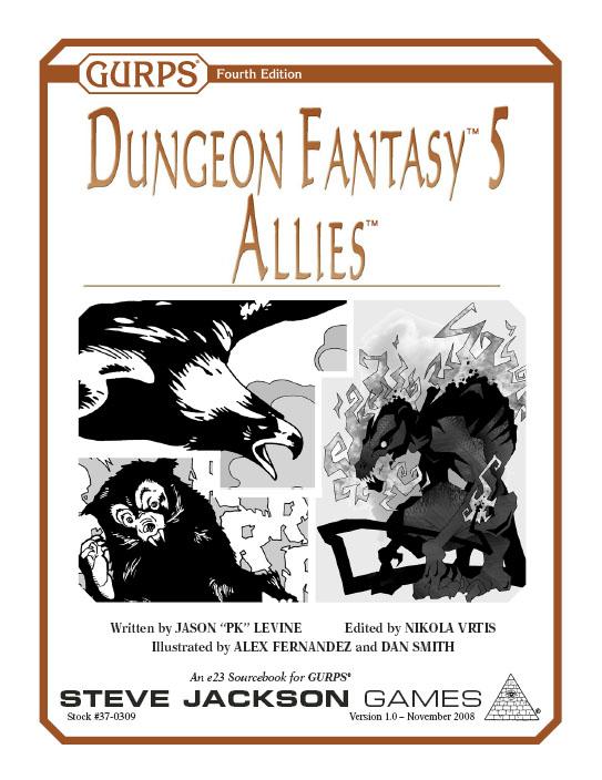 GURPS Dungeon Fantasy 5: Allies