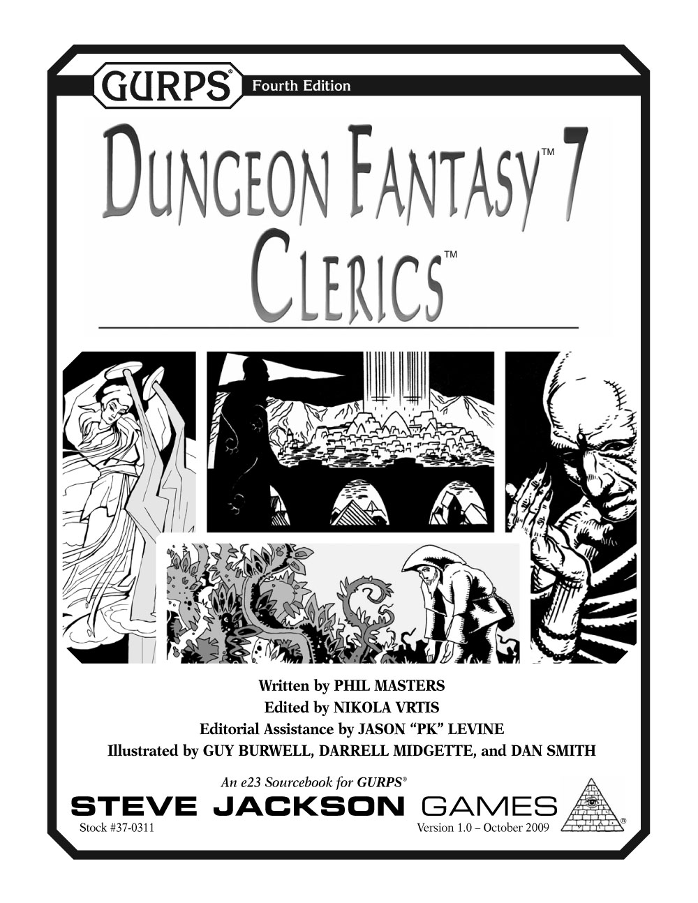 GURPS Dungeon Fantasy 7: Clerics