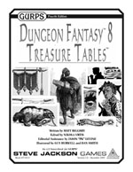 GURPS Dungeon Fantasy 8: Treasure Tables