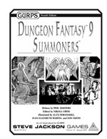 GURPS Dungeon Fantasy 9 Cover