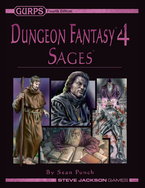 GURPS Dungeon Fantasy 4: Sages
