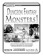 GURPS Dungeon Fantasy Monsters
