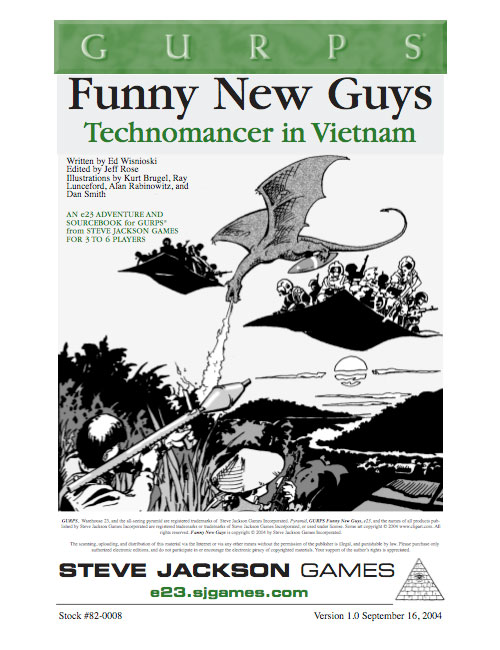 GURPS Technomancer: Funny New Guys