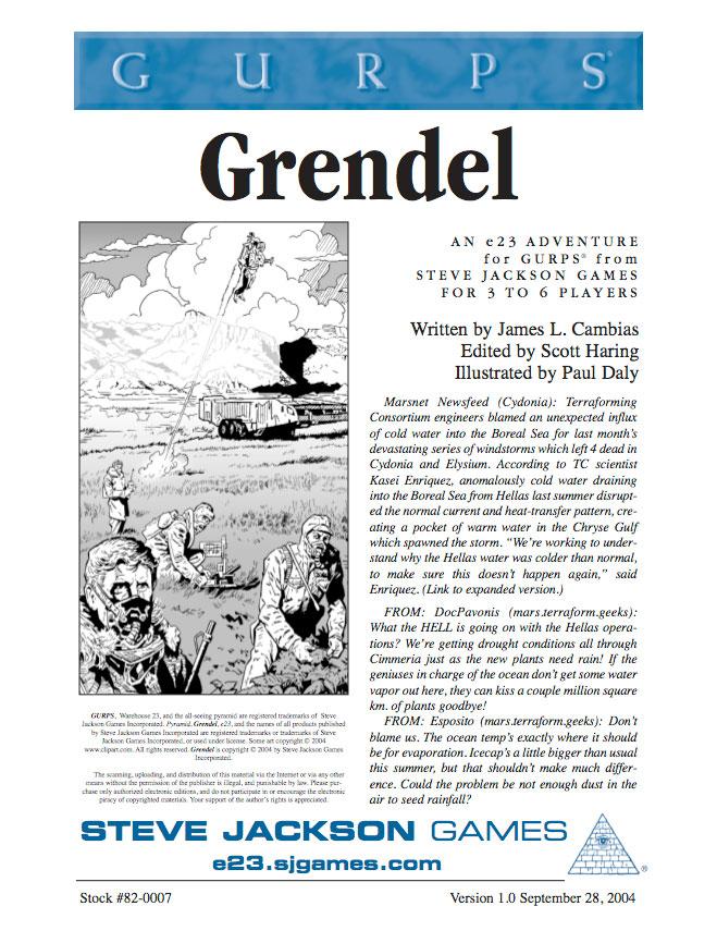 GURPS Grendel