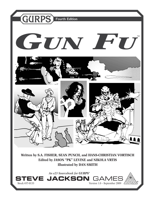 GURPS Gun Fu
