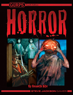 GURPS Horror cover