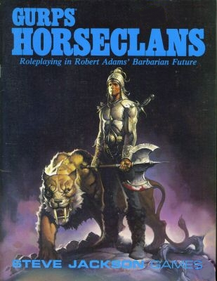 GURPS Horseclans (Front)