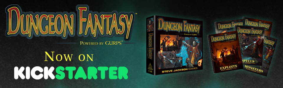 Dungeon Fantasy RPG Boxed Set Kickstarter