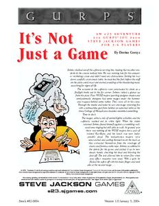 GURPS IOU: It's Not Just a Game